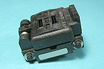 Plastronics 20QN50S14040 closed top, 20 pin, 4.0mm X 4.0mm QFN test socket.
