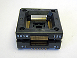 Sensata 3014-120-6-48 Open top, 120 Pin TQFP Package test socket