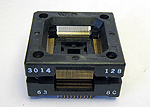 Sensata 3014-128-6-38 Open top, 128 Pin TQFP Package test socket