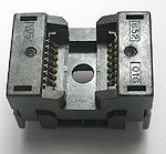 Sensata 652-0162211-001 open top, 16 pin SOP test socket.