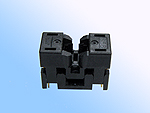 Sensata 656-1082211 open top, 8 pin SSOP test socket.