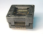 Sensata 20 Pin Open top, HSOP type package test socket