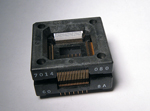 Sensata 3014-080-6-08 open top 80 pin TQFP test socket.