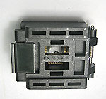 Enplas FPQ-52-0.65-01 closed top, TQFP Type 1, 52 pin, test socket.