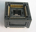 Yamaichi IC120-0524-107 open top, PLCC, 52 pin, test socket.