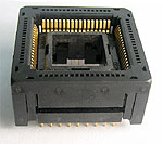 Yamaichi IC120-0684-304 open top, PLCC, 68 pin, test socket.