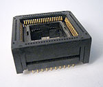 Yamaichi IC120-0844-303 open top 84 pin PLCC test socket.