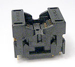 Yamaichi IC189-0162-019 - 16 pin open top SOIC package test socket.